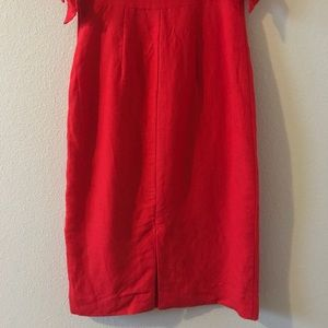 1581a1abe10f Abercrombie & Fitch Dresses - Abercrombie Tie Shoulder Midi Dress Red